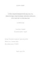prikaz prve stranice dokumenta UČINCI EKONOMSKIH INTEGRACIJA NA TREGOVINSKE I EKONOMSKE ODNOSE ZEMALJA UNUTAR I IZVAN INTEGRACIJA